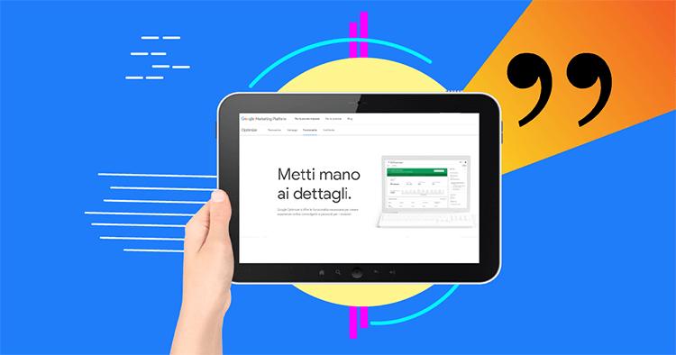 Cos'è e a cosa serve Google Optimize