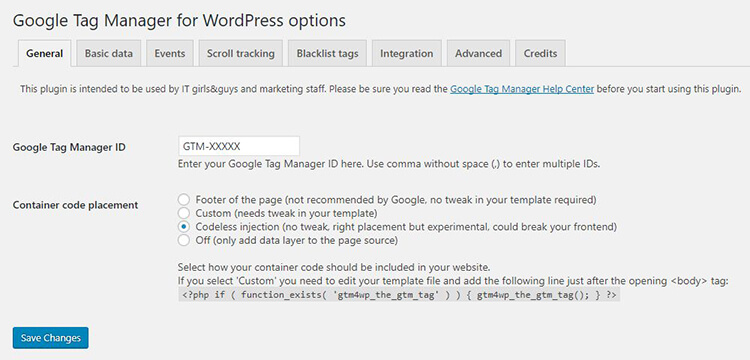 plugin wordpress tag manager